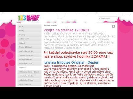 www.123baby.sk