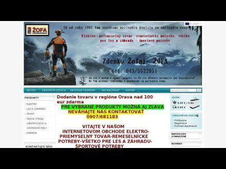www.zofa-obchod.clickeshop.sk
