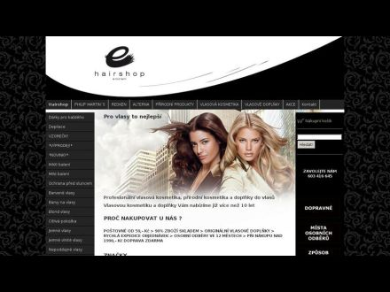 www.hairshop.cz