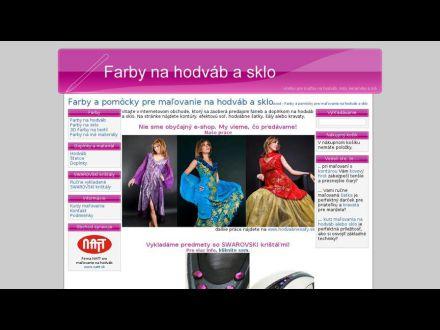 www.farbynahodvab.sk