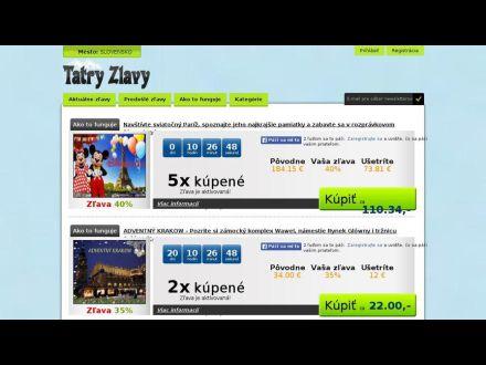 www.tatryzlavy.sk