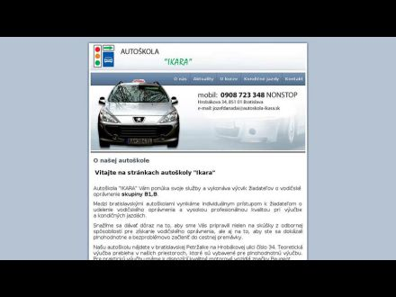 www.autoskola-ikara.sk