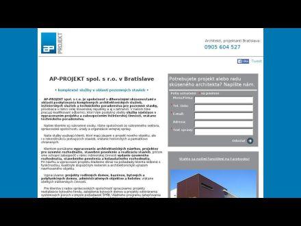 www.ap-projektsro.sk