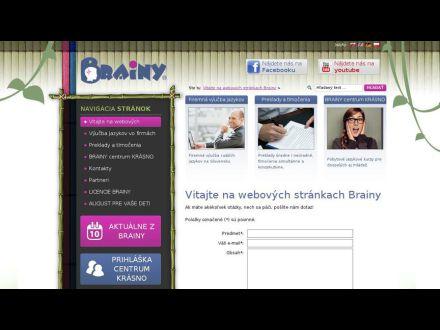 www.brainy.sk
