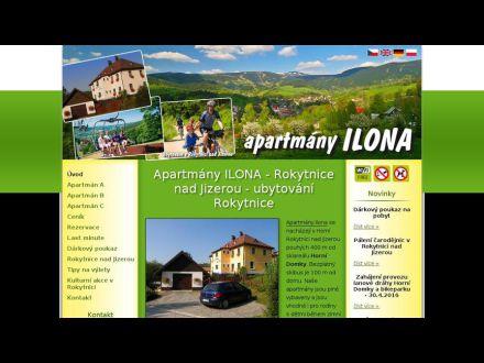 www.apartmanyilona.cz
