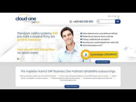 www.cloudone.sk