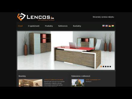 www.lencosin.sk