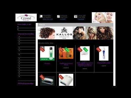 www.crystalcosmetic.sk