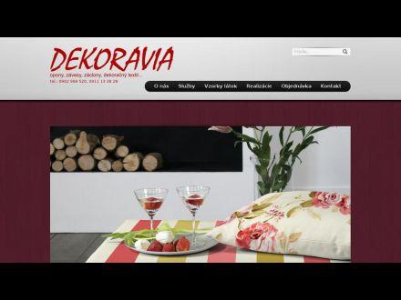 www.dekoravia.sk