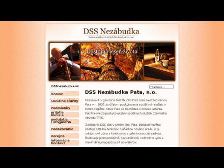 www.dssnezabudka.sk