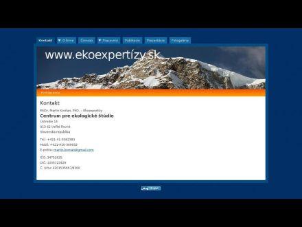 www.ekoexpertizy.sk