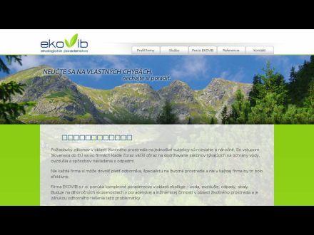 www.ekovib.sk