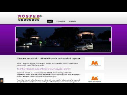 www.nosped.cz