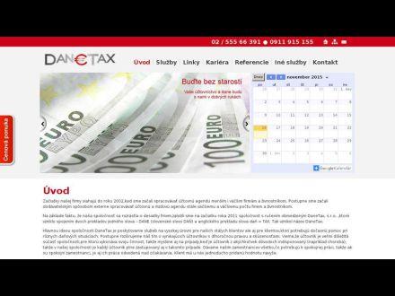 www.danetax.sk