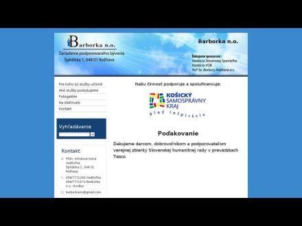 www.barborkano.sk