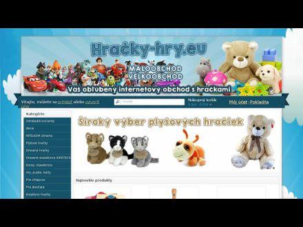 www.hracky-hry.eu