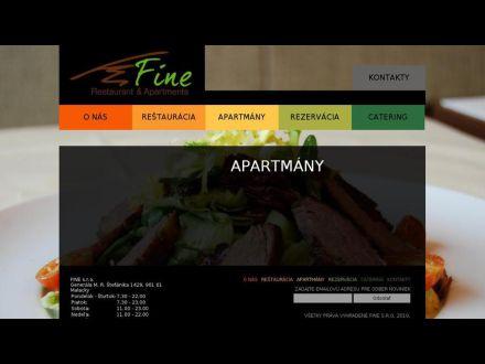 www.finerestaurant.sk/sekcie/Apartmany_57.html