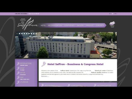 www.hotelsaffron.sk