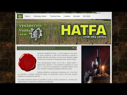 www.hatfawinery.sk
