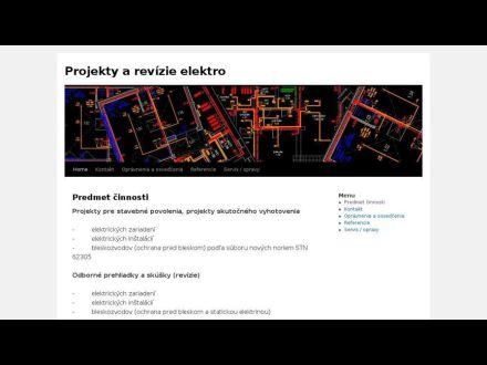 www.projekty-revizie.sk