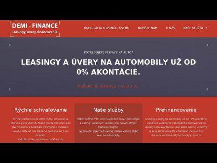 www.demi-finance.sk