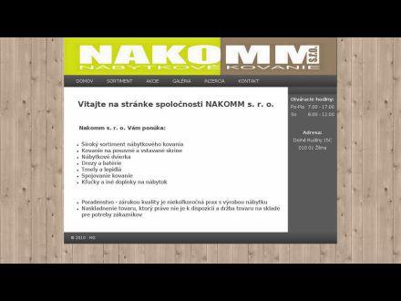 www.nakomm.sk