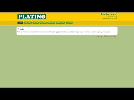 www.platino.sk