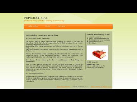 www.popro.sk