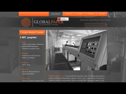 www.globalpaper.sk