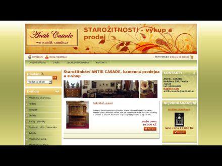 www.antik-casade.cz