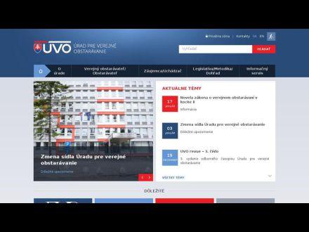 www.uvo.gov.sk