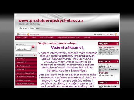 www.prodejevropskychvlasu.cz