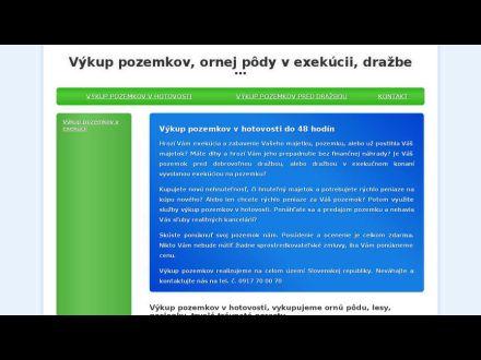 www.vykup-pozemkov.sk