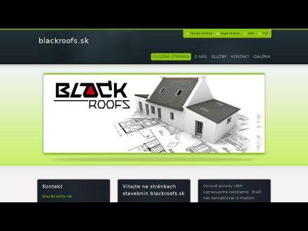 www.blackroofs.sk