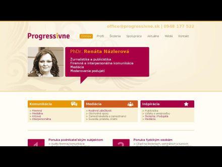 www.progressivne.sk