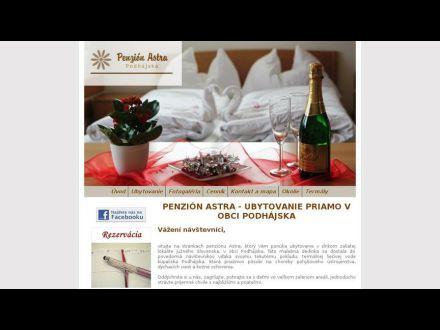 www.astra.podhajska.sk