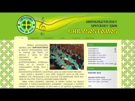 www.chrysostomos.sk