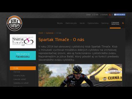 www.bike-centrum.sk/spartak-tlmace/o-nas.html