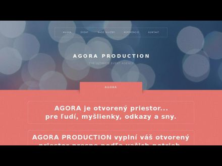 www.agoraproduction.sk