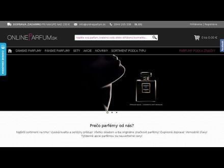 www.onlineparfum.sk