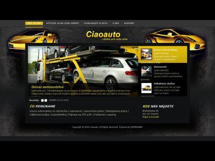 www.ciaoauto.eu