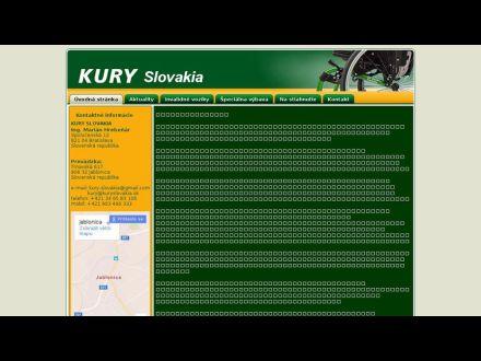 www.kuryslovakia.sk