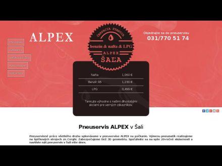 www.pneuservis-alpex.sk