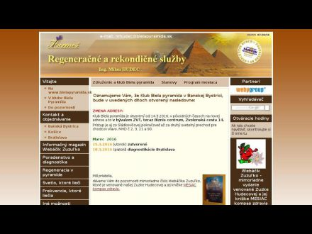 www.bielapyramida.sk