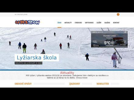 www.oravasnow.sk