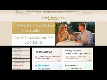 www.lazneluhacovice.cz