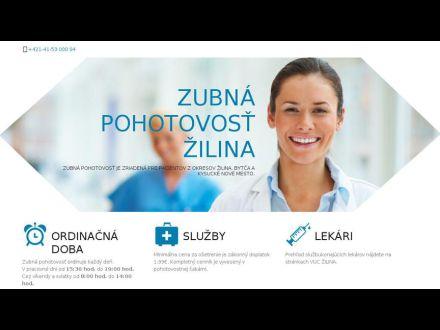 www.zubnapohotovostzilina.sk