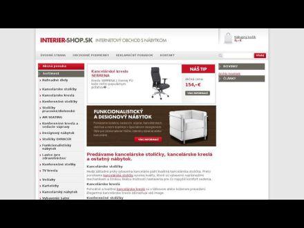 www.interier-shop.sk