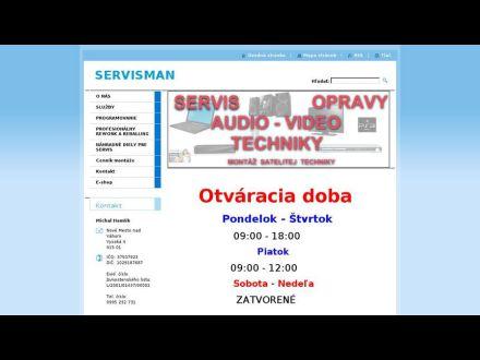 www.servisman.eu