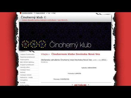 www.cinohernyklub.webnode.sk
